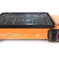 Kompor Gas Portable 2 in 1 PROGAS SATE / 1 Tungku Panggangan SATE