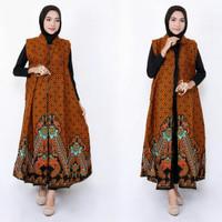 longcardi batik ferlin coat wanita fashion wanita batik exlusive