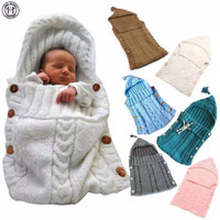 Selimut Bayi Rajut Tebal Kancing Bisa Di Buka - Sleeping Bag Baby