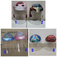 Protective Shield Mask untuk Anak / Face Shield / Pelindung Wajah