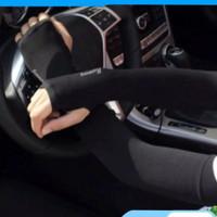 Manset Fingerless, Anti UV Bahan Ice Silk Lembut, Unisex