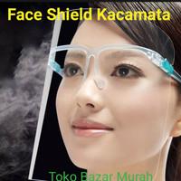 face shield kacamata . pelindung muka kacamata. impor