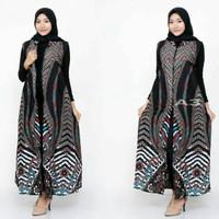 longcardi batik baju batik wanita fashion coat wanita