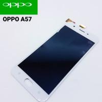 lcd+touchscreen layar sentuh oppo A57 hitam n putih original new