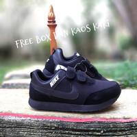 sepatu nike anak laki laki dan perempuan sekolah hitam