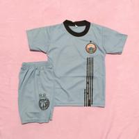 Jersey kaos baju bola setelan anak persij-a latihan abu sbln