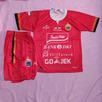 Jersey kaos baju bola setelan anak persij-a+ logo red