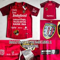 Jersey Baju Bola Bali United BU Home Liga 1 2020-2021 Grade Original