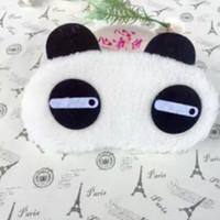 Penutup Mata Tidur anak panda / masker mata / travel sleep mask - Mata Lirik