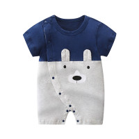 Baby romper baby jumper playsuit 2 tone colour bear baju bayi boy
