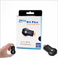 WIRELESS ALAT HP KE TV - ANYCASE M4 PLUS DONGLE HDMI USB WIRELESS WIFI