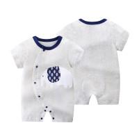 Baby romper baby jumper playsuit baju bayi elephant grey baby boy