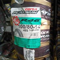 Ban Luar Motor Matic 14 Corsa Platinum 100/80-14 R 46 Tubeless