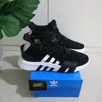 Sepatu Adidas EQT Bask ADV Black List White - Premium Original