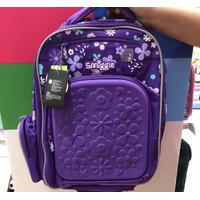 Smiggle Backpack Bag Explore Ultra Girl Purple Boy Black Tas Original