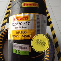 ban Pirelli Diablo Rosso sport 120/70 17