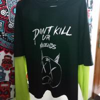 Kaos xxxtentacion revenge t-shirt band rapper tumblr punk (like new)