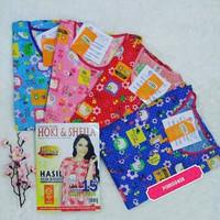 [GROSIR 4 CP-XXL] Baju Tidur katun Wanita Hoki & Sheila/Hoki/Hokison