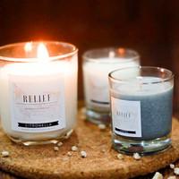 RELIEF Lilin Aroma Terapi COFFEE - Scented Candle / Lilin Wangi