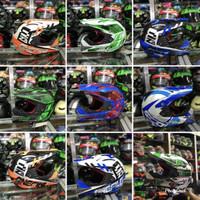 Helm anak cross scott original / helm trail anak