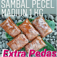Sambel Pecel Madiun 1 kg Extra Pedas