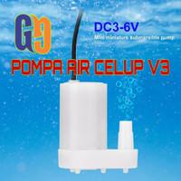 Pompa Air Celup V3 DC Mini Aquarium Hidroponik Submersible Pump