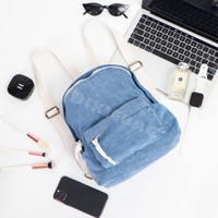 Denim Mini Backpack (Ransel / Tas Wanita) READY STOCK