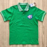 Polo Shirt Anak Laki Asli Disney Planes usia 7-10 thn