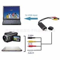 EasyCap / Easy Cap USB 2.0 Video DVD Capture 1 Channel Adapter Card AV