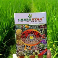 pupuk serbuk greenstar nasa original organik