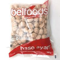 Belfoods Baso Ayam Mini 500gr isi 100