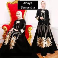 Abaya - Gamis - Drees - Muslim - Gaun - Baju - Pakaian - Hitam Turkey