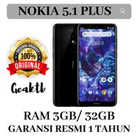 Nokia 5.1 Plus ( Nokia X5 ) 3/32 Garansi resmi 1 Tahun