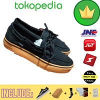 Sepatu Vans Premium / Vans Zapato Black Gum import Sepatu Vans Import