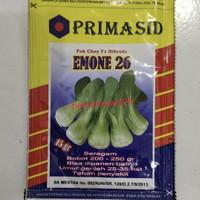 benih sawi pakcoy EMONE 26 F1 15gr pak choy hibrida dari primaseed