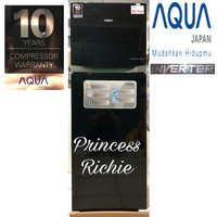 kulkas Aqua 2 pintu inverter AQR D 275R