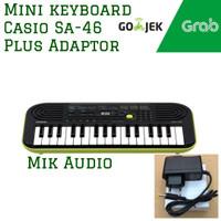 Mini Keyboard Casio SA-46 / SA-47 plus Adaptor