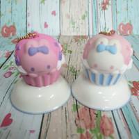 Squishy Murah Licensed Bunny Rabbit Melody Cupcake by Creative Yoko