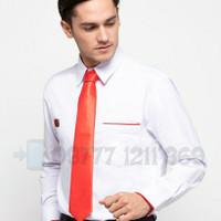baju kemeja seragam sales honda pria lengan panjang size S, M, L