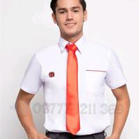 Baju kemeja seragam sales honda lengan pendek size S M dan L