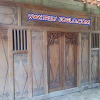 Gebyok Ukir Antik buat rumah Joglo / Limasan full kayu jati