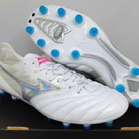 Sepatu Bola Mizuno Morelia Neo II Beta Leather White FG