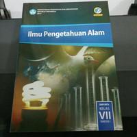Buku paket IPA kelas 7/VII Smp semester 1 edisi revisi terbaru