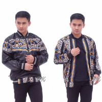 jaket pria / jaket batik / jaket bolak-balik
