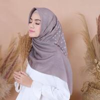 hijab kerudung segiempat motif bahan voal premium 115x115