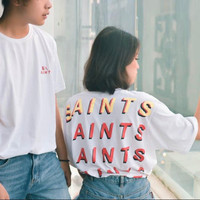 SALE UNISEX Graphic tee kaos street t shirt premium oversize sablon