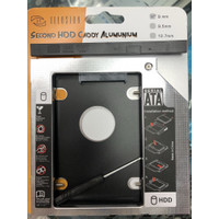Illusion Second HDD Caddy Alumunium 9mm Serial ATA 9 mm