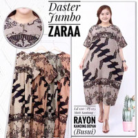 Daster jumbo batik / homey dress jumbo / baju tidur wanita / daster