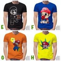 Baju Distro | Kaos Distro | T-Shirt |Oblong GAME NINTENDO MARIO BROS 2