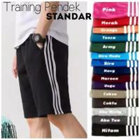 Celana Training Pendek STANDAR - Celana Kolor Pendek - Celana Santai